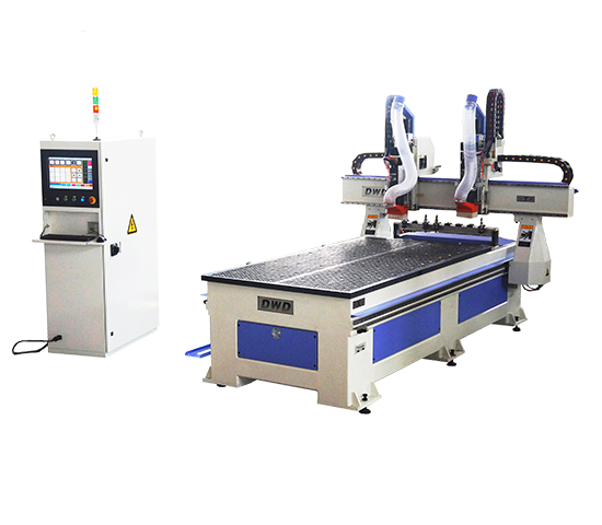 CNC Machine Center With Double Separate Spindle
